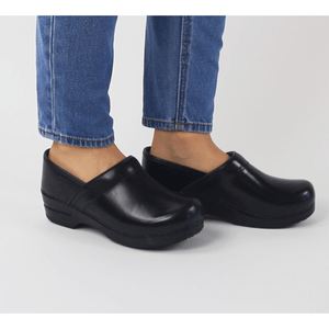 Sanita's Addison Black Clog Lavie Scrubs