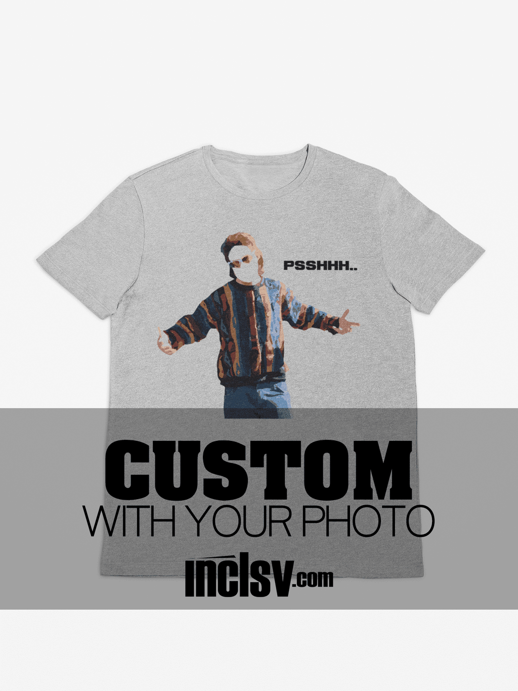 gray custom ed bassmaster shirt