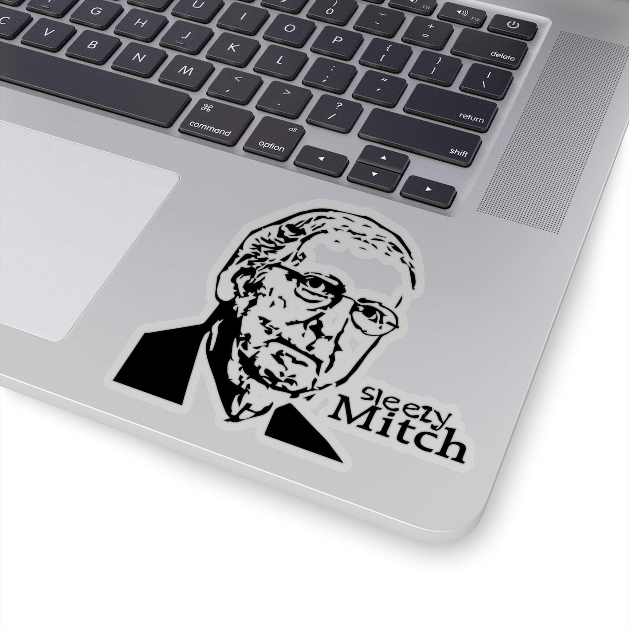 Sleezy Moscow Mitch McConnell - Republican Funny Die-Cut Stickers | Stickers for Laptop