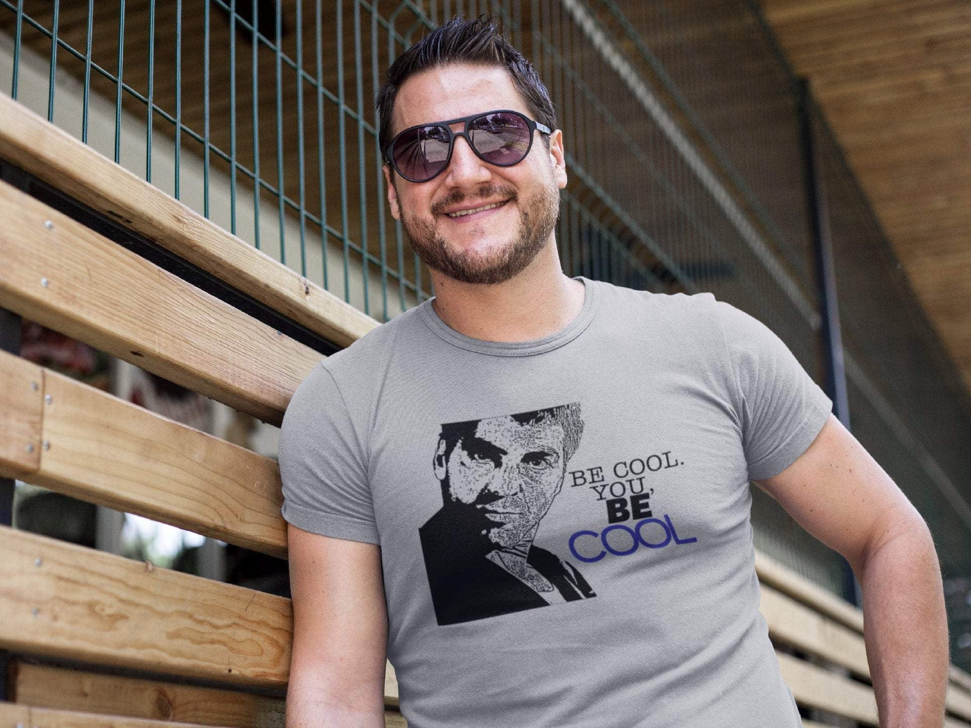 From Dusk Till Dawn - Seth Gecko - Be Cool - You George Clooney Funny T-Shirt Tee Shirt