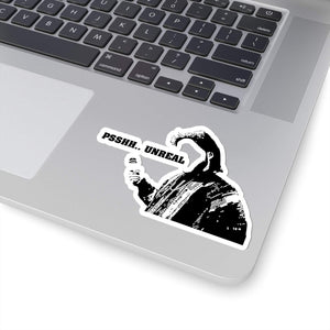 Ed Bassmaster - PSH Unreal -  Funny Die-Cut Stickers - Stickers for Laptop - Waterbottle Sticker
