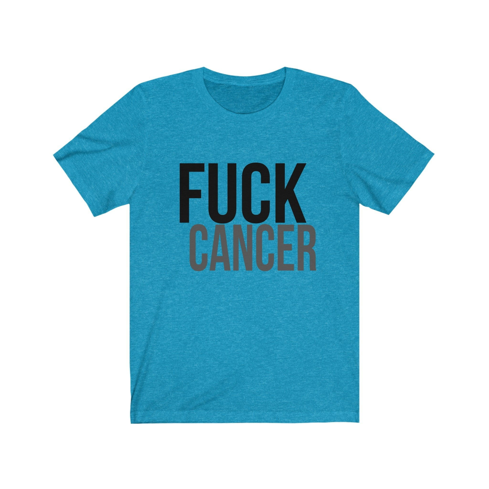 Fuck Cancer - Breast Cancer Awareness - Breast Cancer Shirt - Multiple Colors and Styles