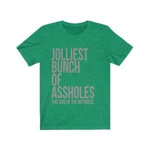 Jolliest Bunch of Assholes - National Lampoons Christmas Vacation Shirt - Long Sleeve Christmas Shirts