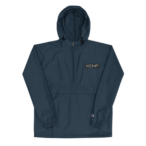 """kemp"" Embroidered Champion Packable Jacket"