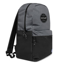 "Load image into Gallery viewer, ""Kemp"" Embroidered Champion Backpack"
