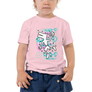 """Graffiti Dog"" Toddler Short Sleeve Tee"