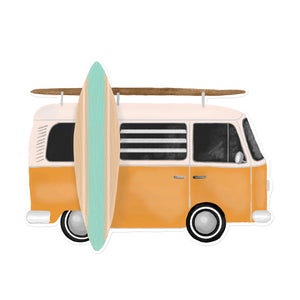Surf Van Sticker