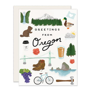 Greetings from Oregon