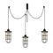 Vero 1056CLB3BLACK 3-Light Cluster Pendant