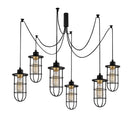 Vero 1056CLB6BLACK 6-Light Cluster Pendant