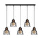Vero 1059CLKB5BLACK 5-Light Cluster Geometric Pendant