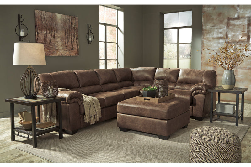 Bladen Coffee RAF Sectional - Luna Furniture