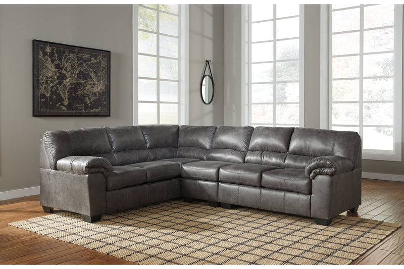 12001 Bladen Slate 3-Piece Sectional | 12001S3 | by Ashley | Nova Furniture
