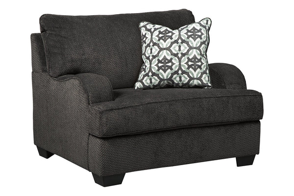 14101 Charenton Charcoal Oversized Chair