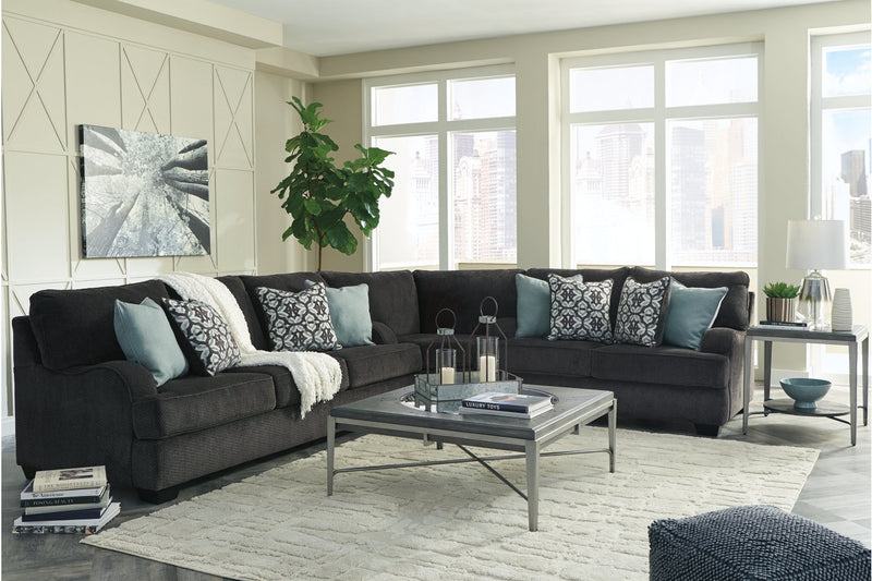 14101 Charenton Charcoal 3-Piece Sectional