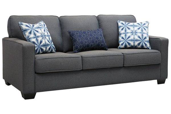 14504 Kiessel Nuvella Steel Sofa & Loveseat
