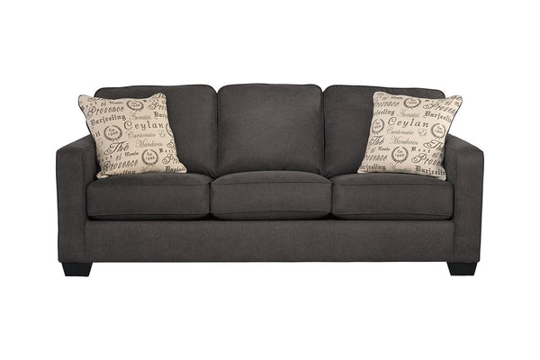 16601 Alenya Charcoal Sofa & Loveseat