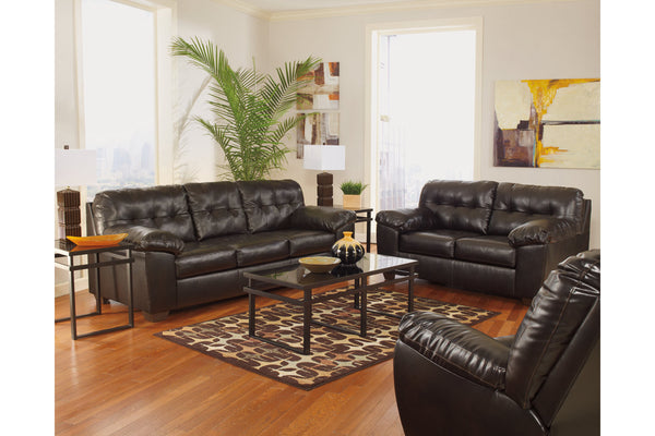 20101 Alliston Chocolate Sofa & Loveseat