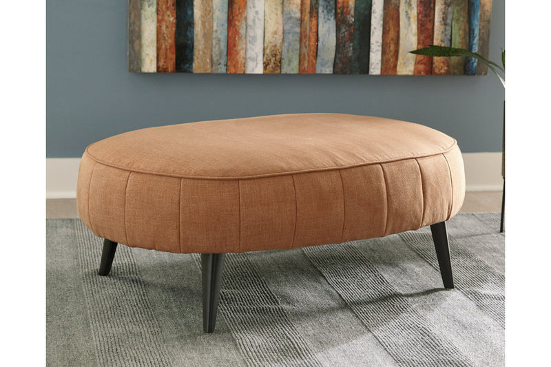 24401 Hollyann Rust Oversized Accent Ottoman