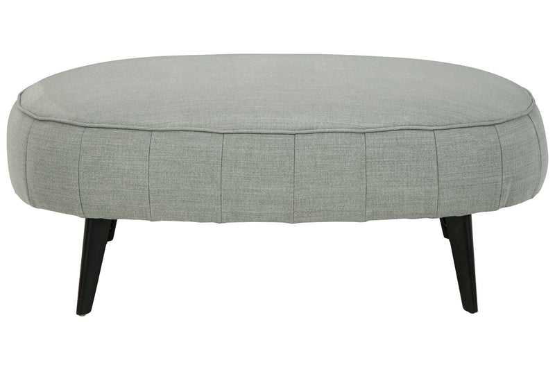 24402 Hollyann Gray Oversized Accent Ottoman
