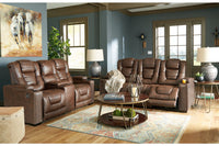 24505 Owner's Box Thyme Power Reclining Sofa & Loveseat