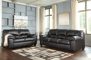 24702 Brazoria Black Living Room Set