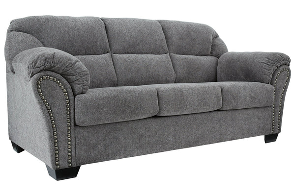 28105 Allmaxx Pewter Sofa & Loveseat