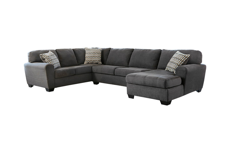 28600 Sorenton Slate 3-Piece RAF Chaise Sectional