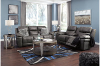 30004 Erlangen Midnight Power Reclining Sofa & Loveseat