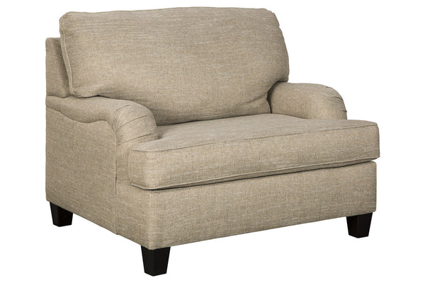 30803 Almanza Wheat Oversized Chair