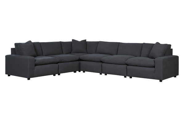 31104 Savesto Charcoal 6-Piece Sectional
