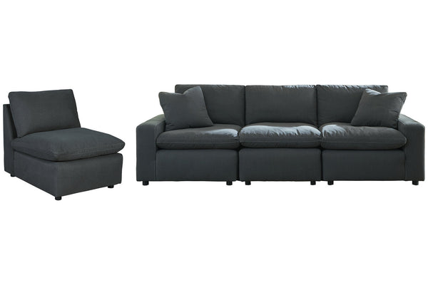 31104 Savesto Charcoal 4-Piece Sectional