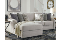 32101 Dellara Chalk 2-Piece Sectional with Chaise | 32101S1 | by Ashley | Nova Furniture