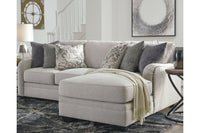 32101 Dellara Chalk 2-Piece Sectional with Chaise | 32101S2 | by Ashley | Nova Furniture