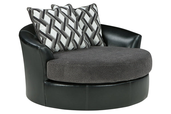 32202 Kumasi Smoke Oversized Chair