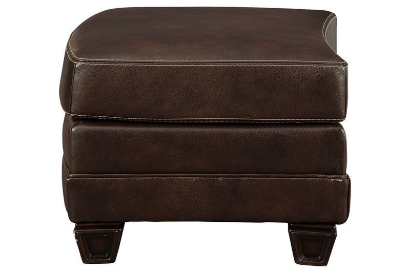 32501 Embrook Chocolate Ottoman