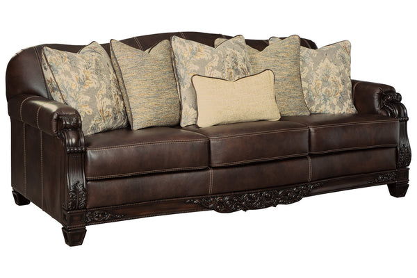 32501 Embrook Chocolate Sofa & Loveseat