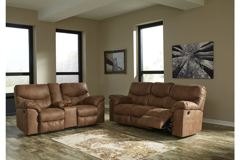 33802 Boxberg Bark Power Reclining Sofa & Loveseat