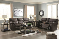 33803 Boxberg Teak Power Reclining Sofa & Loveseat