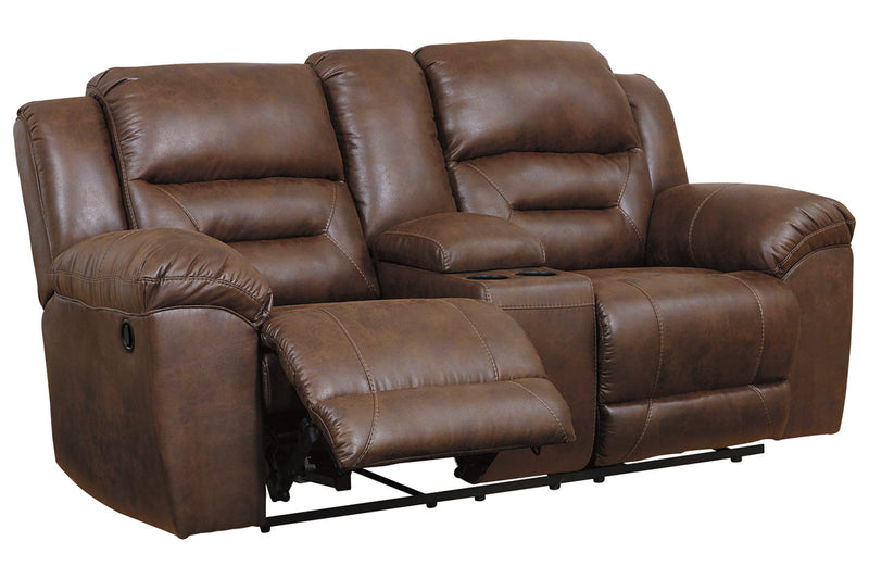 39904 Stoneland Chocolate Reclining Sofa & Loveseat