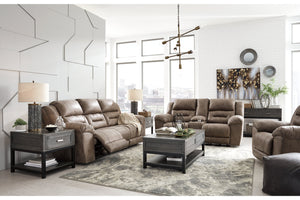 39905 Stoneland Fossil Power Reclining Sofa & Loveseat