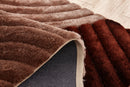 CSR2011-5X7 - Crown Shag 3D Brown/Beige Area Rug
