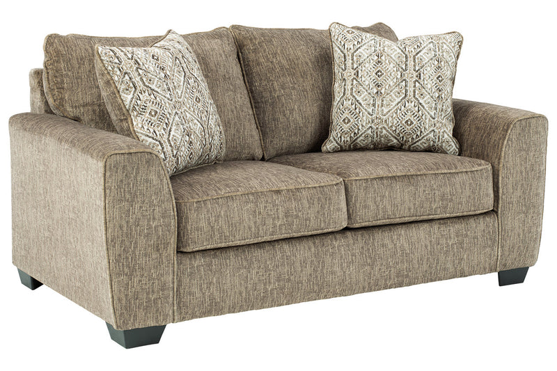 40002 Olin Chocolate Sofa & Loveseat