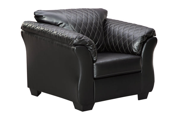 40502 Betrillo Black Chair