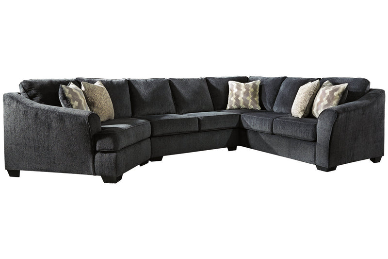 41303 Eltmann Slate 3-Piece LAF Chaise Sectional