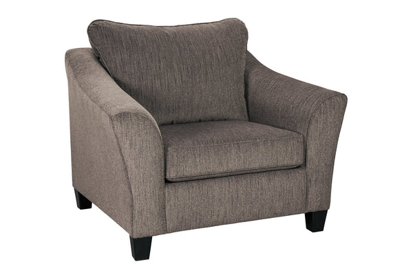 45806 Nemoli Slate Oversized Chair