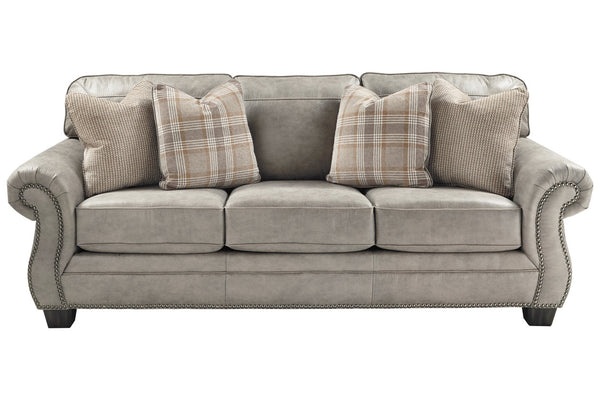 48701 Olsberg Steel Sofa & Loveseat