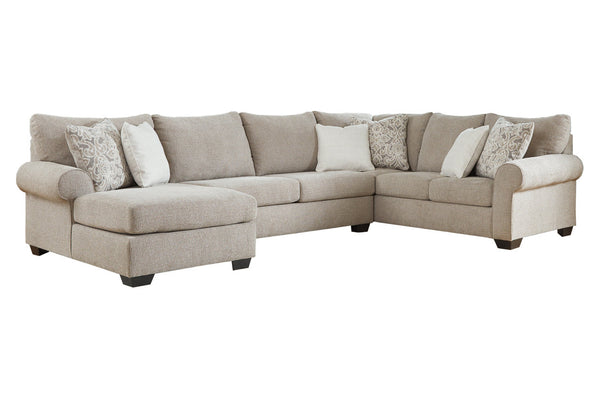 51503 Baranello Stone 3-Piece LAF Chaise Sectional