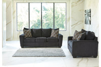 57002 Wixon Slate Sofa & Loveseat