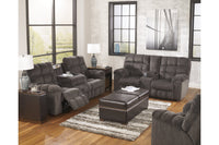 58300 Acieona Slate Reclining Living Room Set